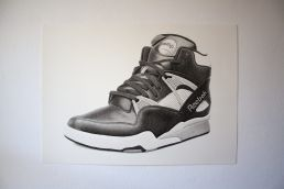 Reebok Pump drawing
