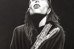 Tash Sultana drawing
