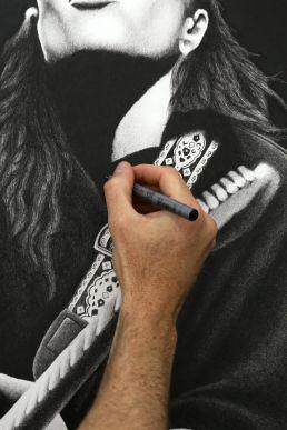 Tash Sultana Drawing