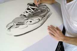 Vans Half Cab drawing
