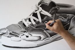 Vans Half Cab shoe drawing