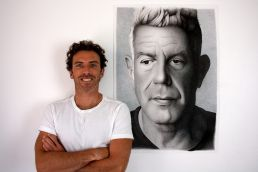 Anthony Bourdain portrait