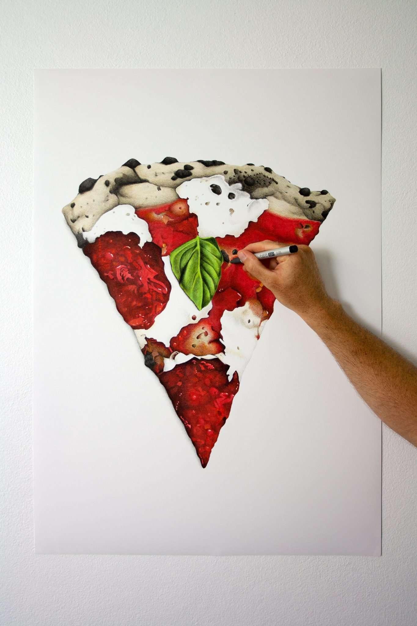 Roberta's Bee Sting pizza