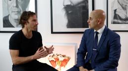 Dean Spinks and John Daewoud talk about art