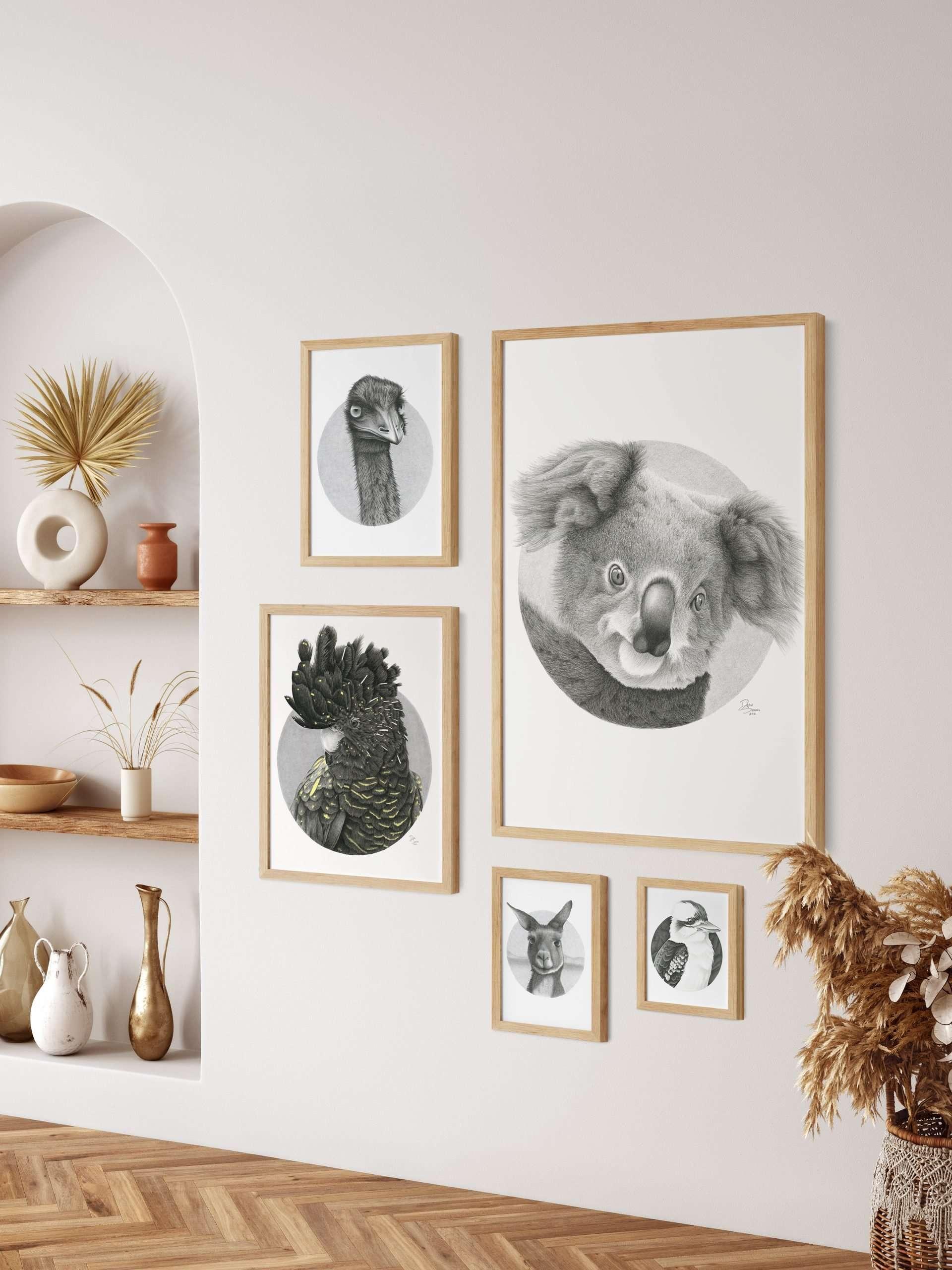 Australian Native animal prints